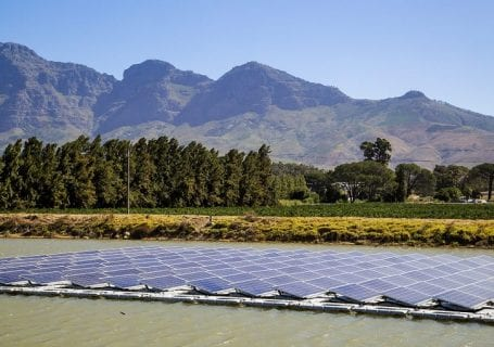 FLOATING SOLAR SOLUTION TO DROUGHT AND ENERGY CHALLENGES