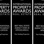 PAM GOLDING PROPERTIES WINS TOP GLOBAL AWARD