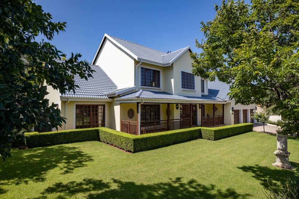 Located at the sought-after The Wilds Security Estate is this four bedroom home, marketed through Pam Golding Properties for R3.8 million.